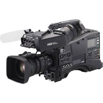 Panasonic AG-HPX600 Camcorder with AG-CVF15 Viewfinder and Fujinon XA16x8A-XB4 Lens