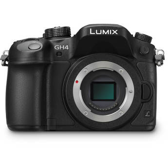 Panasonic Lumix DMC-GH4 4K Mirrorless Micro Four Thirds Digital Camera (Body Only)