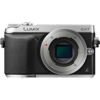 Panasonic Lumix DMC-GX7 Mirrorless Micro Four Thirds Digital Camera (Black and Silver)