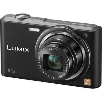 Panasonic Lumix DMC-SZ3 Digital Camera (Black)