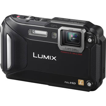 Panasonic Lumix DMC-TS5 Digital Camera (Black)