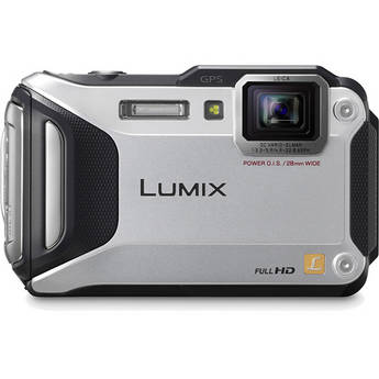 Panasonic Lumix DMC-TS5 Digital Camera (Silver)