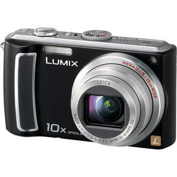 Panasonic Lumix DMC-TZ5 Digital Camera (Black)