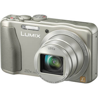 Panasonic Lumix DMC-ZS25 Digital Camera (Silver)
