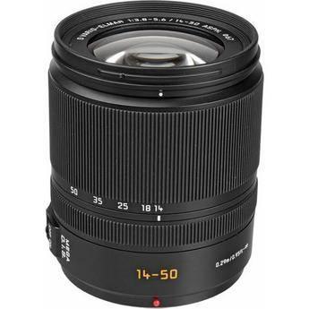 Panasonic 14-50mm f/3.8-5.6 Vario-Elmar Aspherical MEGA O.I.S. Lens for Four Thirds System