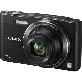 Panasonic LUMIX DMC-SZ8 Digital Camera (Black)