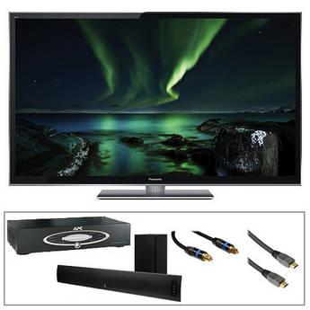 """Panasonic TC-P55VT50 Smart Viera 55"""" Full HD Plasma 3D TV Advanced Kit"""