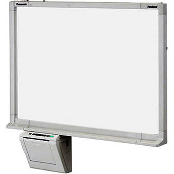 "Panasonic 50"" Electronic Whiteboard with Built-In Monochrome Printer & USB Port"
