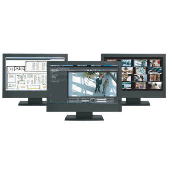 Panasonic Controller Support for Multi-Monitor and Security System