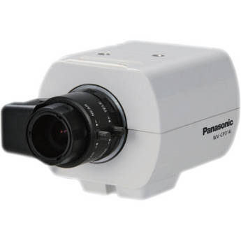 Panasonic WV-CP314 Fixed Day/Night Color Box Camera (IR Filter, Dual Voltage)