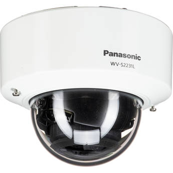 Panasonic i-Pro Extreme WV-S2231L 1080p Network Dome Camera with Night Vision