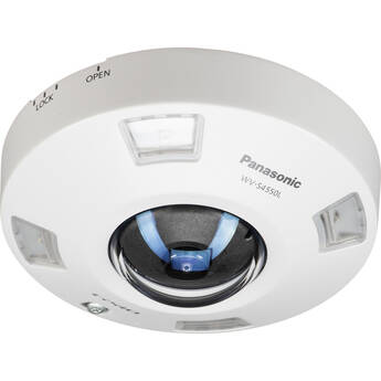 Panasonic iPro Extreme WV-S4550LM 5MP Outdoor Network Dome Camera with Night Vision & Fisheye Lens (M12)