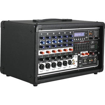 Peavey PVi 6500 Powered Mixer with iPhone, iPod, & iPod touch Dock