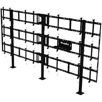 "Peerless-AV Modular Video Wall Pedestal Mount for 46 to 55"" Displays (4x3 Configuration)"