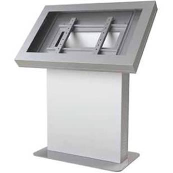 """Peerless-AV KIL547-S Landscape Kiosk Enclosure for 47"""" Displays (Silver)"""