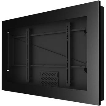 "Peerless-AV KIL746 In-Wall Kiosk Landscape Enclosure for 46"" Displays (Black)"