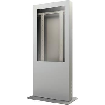 """Peerless-AV KIP540-S Portrait Kiosk Enclosure for 40"""" Display (Silver)"""