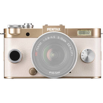 Pentax Q-S1 Mirrorless Digital Camera (Body Only, Champagne Gold)