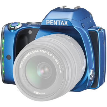 Pentax K-S1 DSLR Camera (Body Only, Blue)