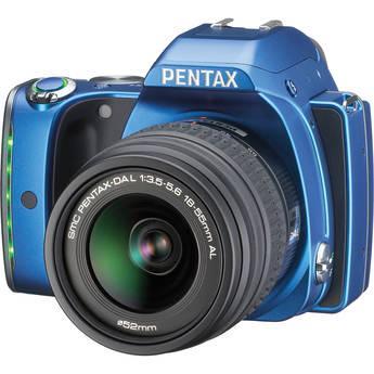 Pentax K-S1 DSLR Camera with 18-55mm Lens (Blue)