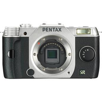 Pentax Q7 Compact Mirrorless Camera Body (Silver)