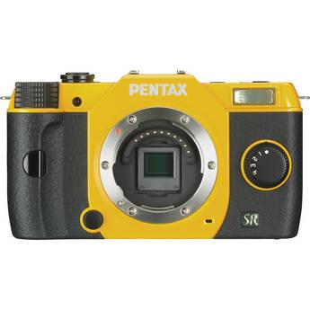 Pentax Q7 Compact Mirrorless Camera Body (Yellow)