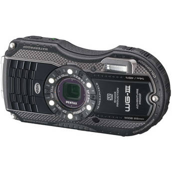 Pentax WG-3 Digital Camera Kit (Black)