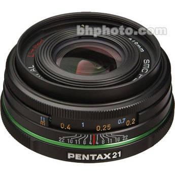 Pentax Wide Angle SMCP-DA 21mm f/3.2 AL Limited Series Autofocus Lens