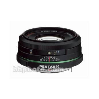 Pentax SMCP-DA 70mm f/2.4 Limited Series Autofocus Lens