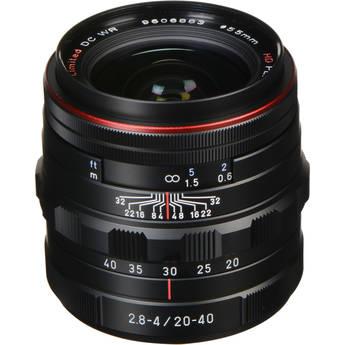 Pentax HD Pentax DA 20-40mm f/2.8-4 ED Limited DC WR Lens (Black)