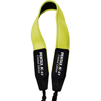 Pentax Color Neck Strap for K-S1 DSLR Camera (Lime Pie)