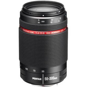 Pentax HD Pentax-DA 55-300mm f/4-5.8 ED WR Lens