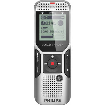 Philips 4GB Voice Tracer 1700 Digital Recorder