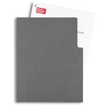 Pina Zangaro Open-Corner Sleeves (25-Pack, Dark Gray)
