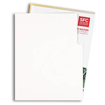 Pina Zangaro Open-Corner Sleeves (25-Pack, White)