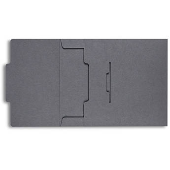 Pina Zangaro Envelopes (25-Pack, Dark Gray)