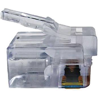 Platinum Tools EZ-RJ12/11 Connector with Standard Tab (Bag, 500-Pieces)