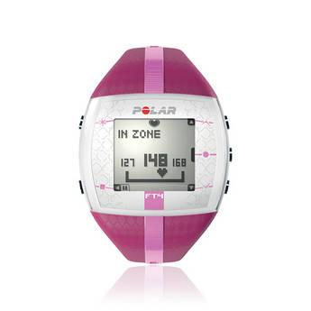 Polar FT4 Training Computer Watch (Purple/Pink)