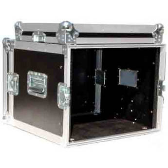Pro Cases 8U Amp Rack Case (Black)