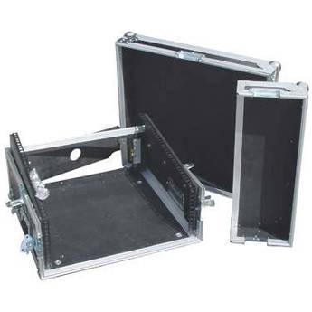 Pro Cases AC-MA-2U Slant Mixer/Amp Rack Case with 10 RU Top and 2 RU Bottom