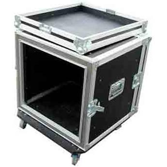 Pro Cases 12U Shock Mountcombo Rack W/ Casters