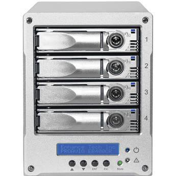 Proavio 16TB EB400CR 4-Bay Desktop Storage System