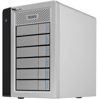 Promise Technology 24TB (6 x 4TB) Pegasus R6 6-Bay Storage Array
