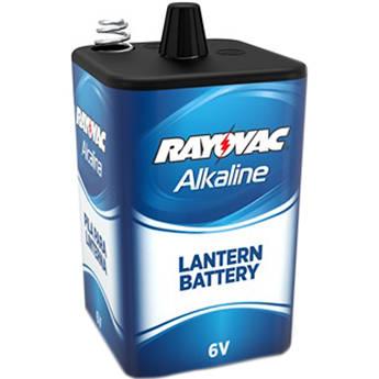 RAYOVAC 6V Spring-Terminals Alkaline D Cell Lantern Battery