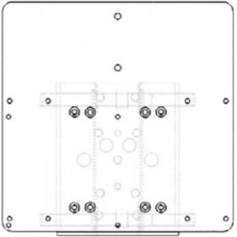 Raytec PBC-PSU-ADAP Adapter Plate for Select Illuminators & Power Supply Units