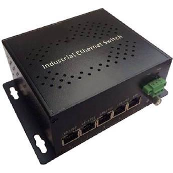 Raytec 4-Port 60W PoE & 1-Port No PoE 10/100 Mbps Unmanaged Ethernet Switch