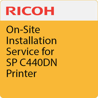 Ricoh On-Site Installation Service for SP C360DNw Printer