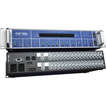 RME ADI-6432R BNC 64-Channel 192 kHz MADI/AES Format Converter (Multi-Mode)