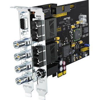RME HDSPe MADI FX - 390 Channel PCIe Audio Card