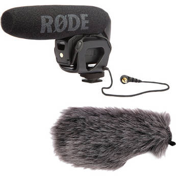Rode VideoMic Pro Shotgun Microphone and Windbuster Kit